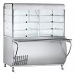 Прилавок-витрина холодильный Abat ПВВ(Н)-70М-С-ОК