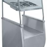Прилавок для столовых приборов Abat ПСПХ-70Т